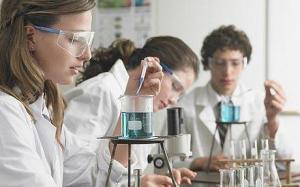 chemistry class