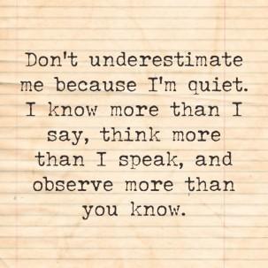 quiet-quote